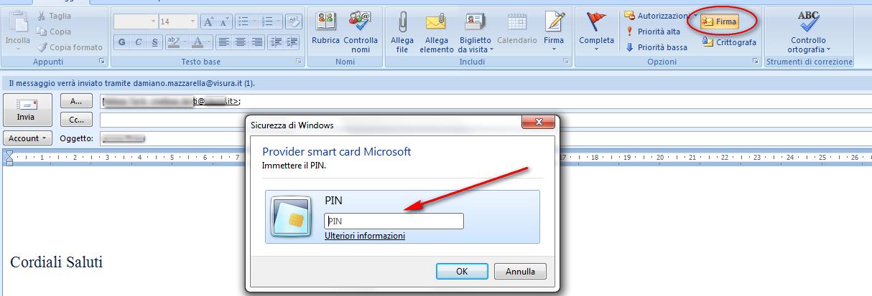 Come Posso Firmare Digitalmente Le E Mail Utilizzando La