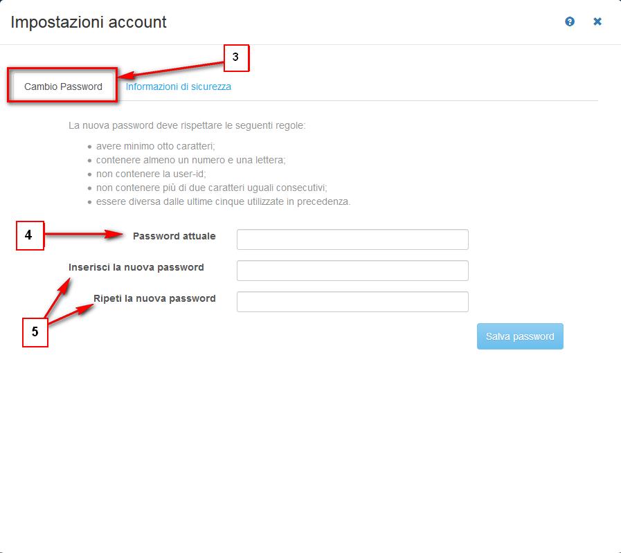 Come posso modificare la mia password per l accesso alla pec for Come posso progettare la mia casa