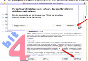 licenza bit4id mac