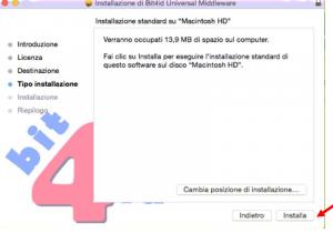 ultimo installa bit4id mac