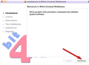 installazione bit4id mac