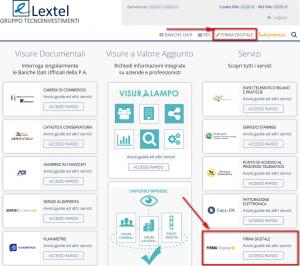 certificati lextel